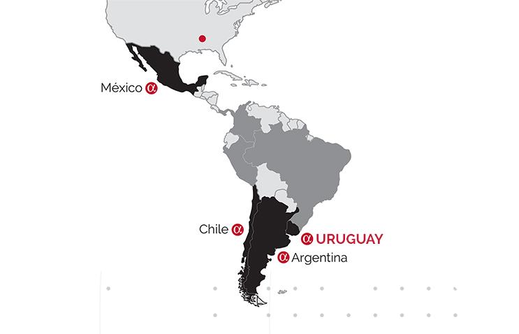 Trayectoria Uruguay