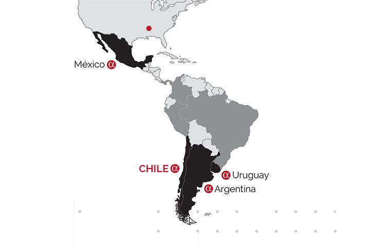 Trayectoria Chile