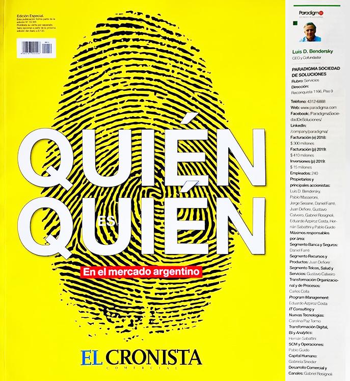Quién es quién en el Mercado Argentino